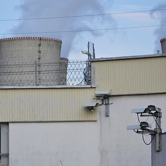 How Do You Secure A Domestic Nuclear Power Plant From